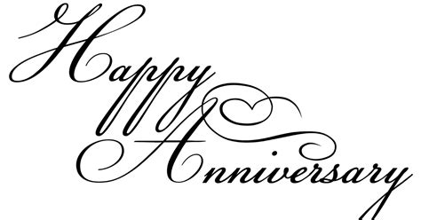 Wedding Anniversary Font by Words Imagined Happy Anniversary