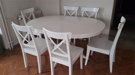 ikea masa beyaz ikea ingatorp yemek masası kullanılmış yemek masası