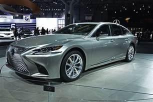 Ls500 Lexus Lexus Ls 500 F Sport New York International Auto Show