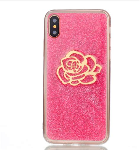 Pink Iphone Cases On The Cheap cheap tpu soft iphone x cases pink bling phone cases