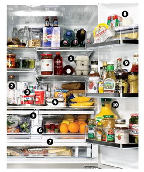 Coldest Shelf In Refrigerator by How To Organize Your Refrigerator Drawers Shelves