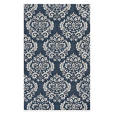 blue medallion rug blue medallion rug bed bath beyond