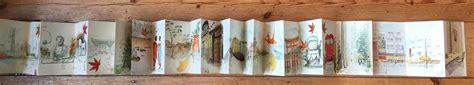 japanese sketchbook japanese accordion sketchbook print limited edition