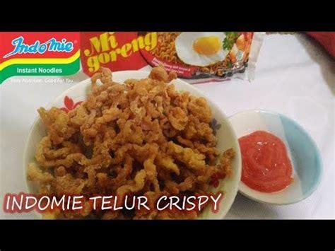 cara membuat oreo goreng crunchy resep cara membuat indomie telur crispy simpel dan mudah