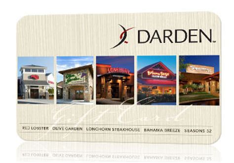 Where Can I Use A Darden Gift Card - deals on gift cards to darden restaurants