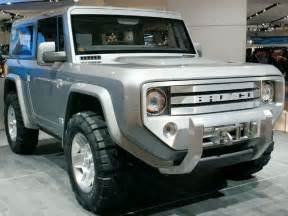 Ford Bronco Prototype 2015 Ford Bronco Concept Release Date Raptor Redesign