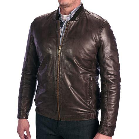 leather bomber jacket andrew marc leather bomber jacket for save 43