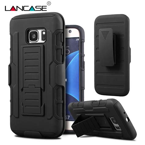One Dluffy 0123 Casing For Galaxy S7 Hardcase 2d Casing Cover lancase for samsung galaxy s7 edge hybrid belt clip stand shockproof silicone armor