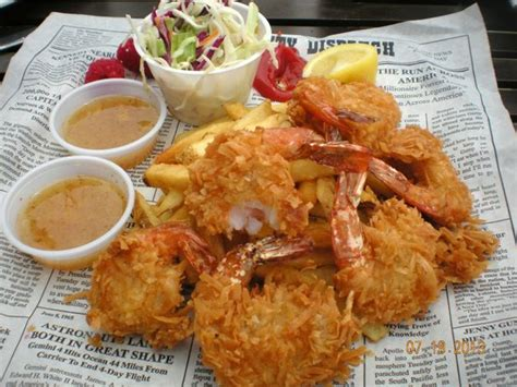 Tv Dinners Forrest Gumps Coconut Shrimp by View From The Water Picture Of Bubba Gump Shrimp Co