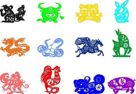 2007 The Year In Color by 手工剪纸矢量图 图片素材 其他 矢量图库 昵图网nipic