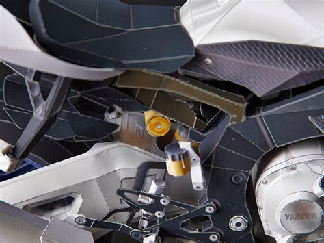 How To Make A Motorcycle Out Of Paper - build your own yamaha yzf r1m out of paper motorcycle