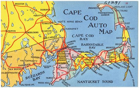 is there a from boston to cape cod map of boston and cape cod pictures to pin on