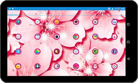 go launcher themes girly girly pink theme launcher android apps on google play