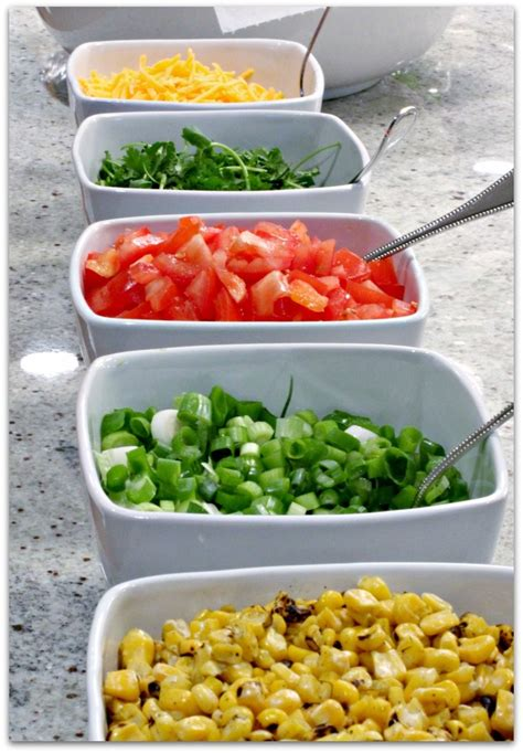 Taco Bar Toppings by 17 Best Ideas About Taco Bar On Taco Bar