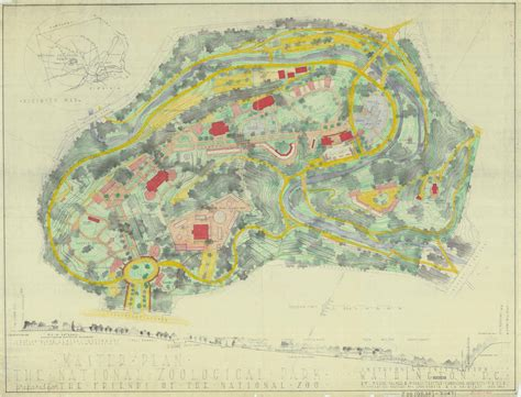 national zoo map historic maps and photos of the national zoo the