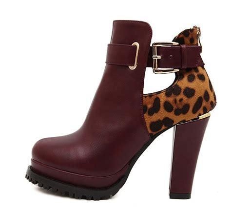 Boot Maroon Leopard stunning ways to style a skirt this fall luulla s
