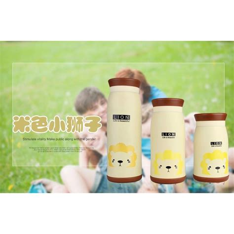 Colourful Cate Thermos Insulated Mik Water Bottle 500ml Ther colourful thermos insulated mik water bottle