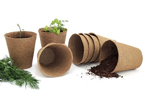 peat pots plant starters seedling herb seed