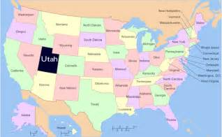 utah united states map utah us ski resorts