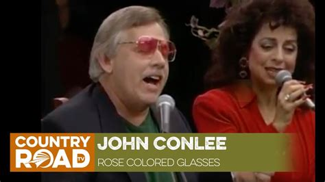 conlee colored glasses conlee sings quot colored glasses quot