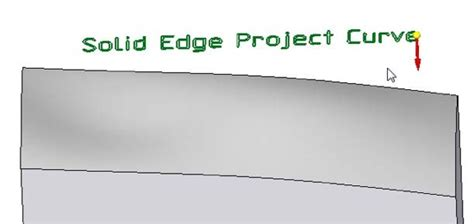 sketch pattern in solid edge wrapping or projecting a sketch in solid edge design