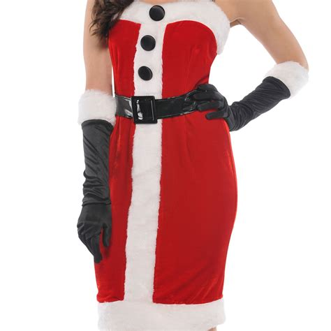 bedroom costume for women miss sexy santa ladies christmas xmas womens mrs fancy