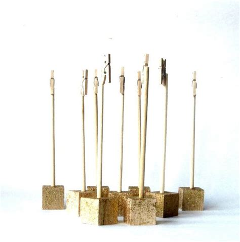 table numbers and holders table number holders set of 25 with glitter self