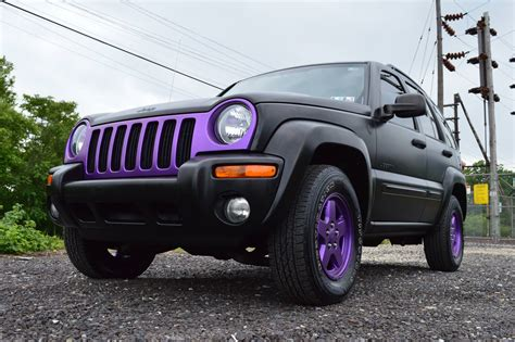 plasti dip jeep liberty 2004 jeep liberty royal customs