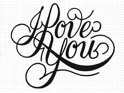 imagenes de i love you en cursiva i love you 123 by bob ewing dribbble
