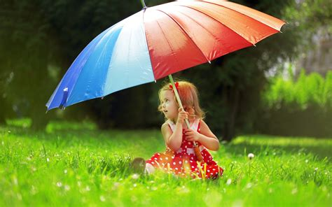 wallpaper hd umbrella girl beautiful cute baby girl with umbrella hd wallpaper