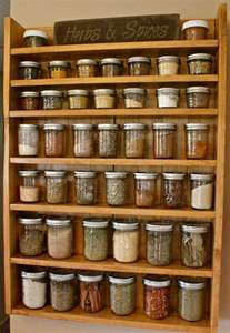 Spice Rack Solid Wood Spice Racks Spice Racks Jars Shelf