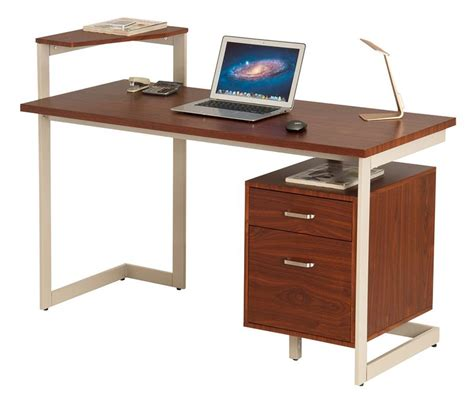desk laptop drawer laptop desk with drawers walnut 2 drawer laptop desk 17