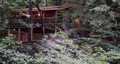 waterfall cottage mountain lodge