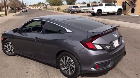 Honda Civic Muffler 2017 honda civic muffler delete
