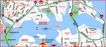 Map Of New York Bronx by New York Map Bronx