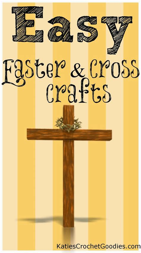easy religious crafts for cross crafts picmia