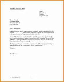 Business Letters Rejection 5 Internship Rejection Letter Debt Spreadsheet