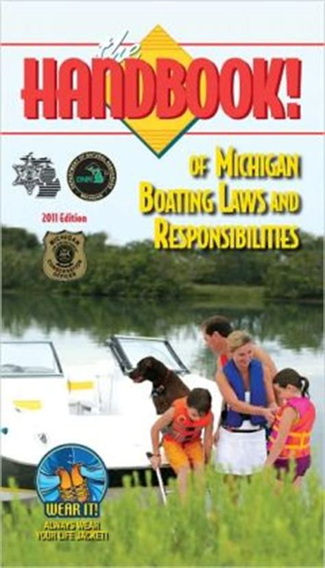 Michigan Gift Card Law - the handbook of michigan boating laws and responsibilities by boat ed kalkomey