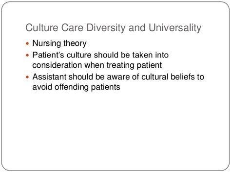 cultural care diversity and universality j 2 diverse community of patients