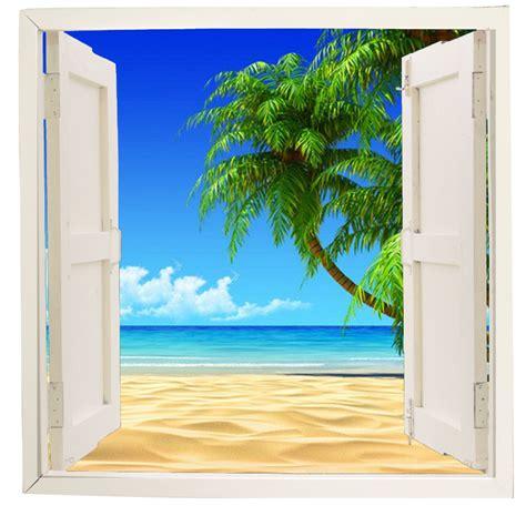 imagenes de paisajes vistos desde una ventana en vinilo adhesivo ventana con paisaje simulada