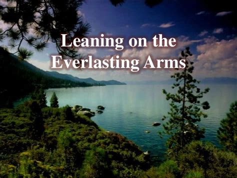 On The by Leaning On The Everlasting Arms