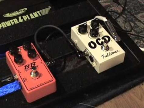 xotic effects bb preamp versus fulltone ocd v4 guitar