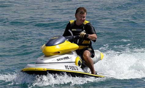 sinking jet boat 50 brits rescued from sinking boat after jet ski ploughs