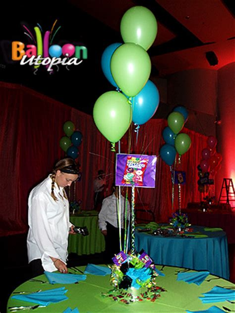 theme exles party candy themed centerpieces