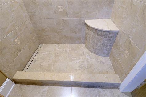 Draining Shower by Laticrete Australia Conversations Linear Drain Detailed