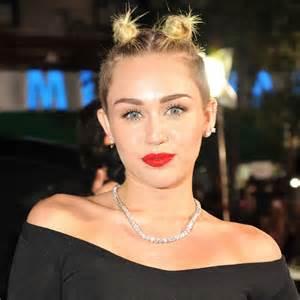 who atles miley sirua hair miley cyrus hair and makeup at vmas 2013 popsugar beauty