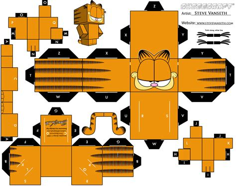 paper craft papercraft y cubeecraft para armar