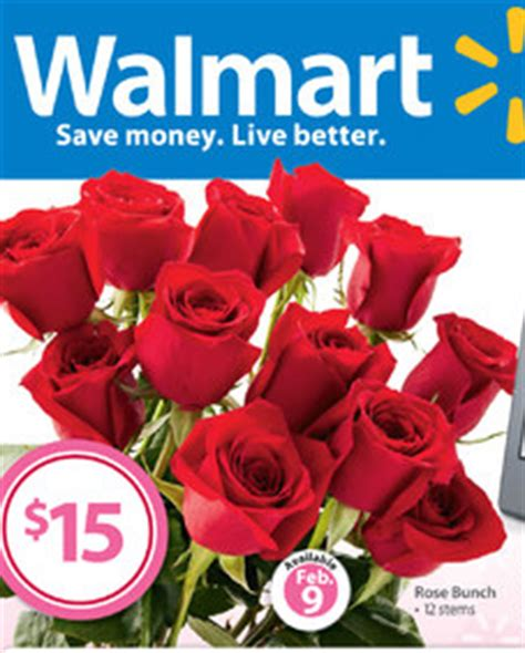 walmart valentines flowers dozen roses from walmart 15 00 wow freebies2deals
