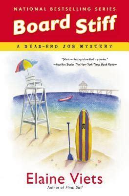 dead calm a coastal suspense volume 1 books board stiff a dead end mystery 12 by elaine viets