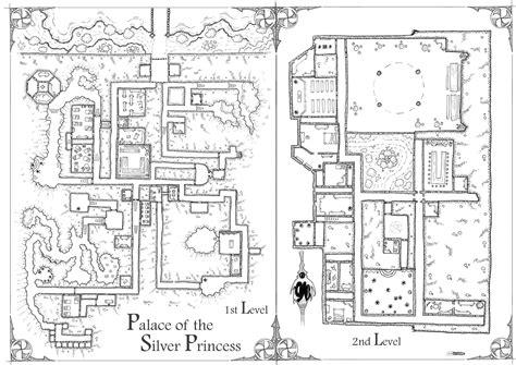 Map 3 Princess 2 Design acrobata2000 palace of the silver princess map